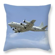 A P-3c Orion Aircraft Takes Throw Pillow