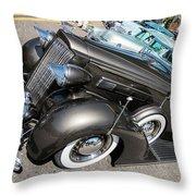 A Packard Super 8 Throw Pillow