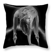 A Painful Pose Throw Pillow