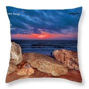 A Painted Sky For The Poet's Eye Throw Pillow