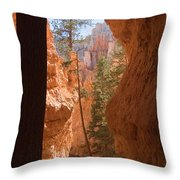 A Pair Of Hikers Go Throw Pillow