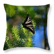 A Pale Swallowtail Vertical Throw Pillow