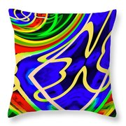 A Passing Thought Throw Pillow