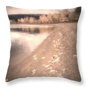 A Pastel Afternoon Throw Pillow