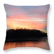 A Pastels Eve Throw Pillow