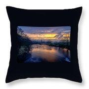 A Peaceful Morning Throw Pillow