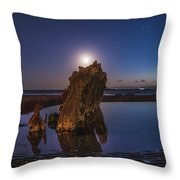 A Peaceful Night Throw Pillow