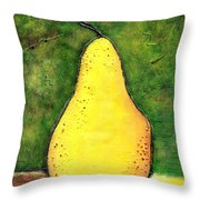 A Pear 1 Throw Pillow