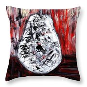 A Pear-antly Throw Pillow