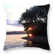 A Peek Of Light Throw Pillow