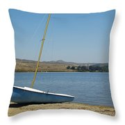 A Perfect Day For Sailing Throw Pillow
