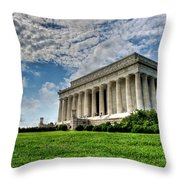 A Perfect Day In Washington Throw Pillow