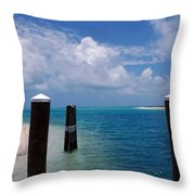 A Perfect Day Throw Pillow by Susanne Van Hulst