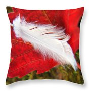 A Perfect Fall Throw Pillow