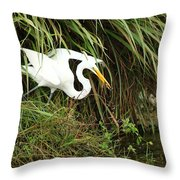 A Perfect Hunter Throw Pillow