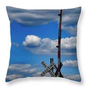 A Perfect Sky Throw Pillow