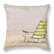 A Perfect Vacation Throw Pillow