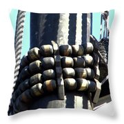 A Peril Up The Mast Throw Pillow