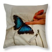 A Personal Touch Throw Pillow