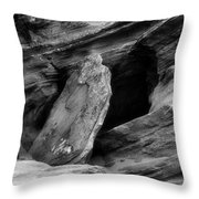 A Piece Of The Rock Throw Pillow