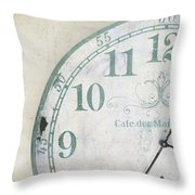 A Piece Of Time Throw Pillow