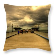A Pier Throw Pillow