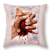 A Pigs Life Throw Pillow