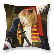 A Pirate's Life Throw Pillow