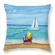 A Place For Rest Throw Pillow