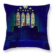 A Place Of Worship  Throw Pillow