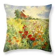 A Place To Be II Throw Pillow