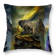 A Place To Be-to Grow-to Dream Throw Pillow