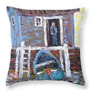 A Place To Get Away From It All Throw Pillow