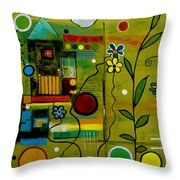 A Place To Grow II Throw Pillow