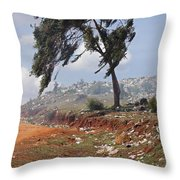 A Plague Of Indifference Throw Pillow