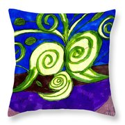 A Plant For Mother's Day Throw Pillow