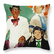 A Play In Three Acts Throw Pillow
