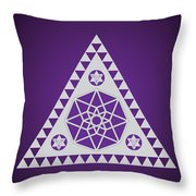 A Pleiadian Symbol Throw Pillow