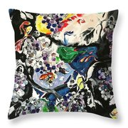 A Point Of View Throw Pillow