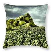 A Pointed Hilltop Throw Pillow