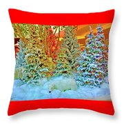 A Polar Bear Christmas 2 Throw Pillow