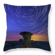 A Portal To Bisti Badlands Throw Pillow
