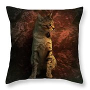 A Portrait Of Coco Throw Pillow