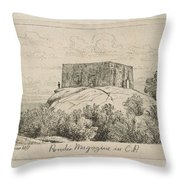 A Powder Magazine In Central Park From Scenes Of Old New York, By Henry Farrer, 1844-1903 Throw Pillow