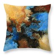 A Precious Few Abstract Throw Pillow