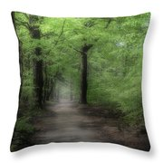 A Preview Of Speulderbos Throw Pillow