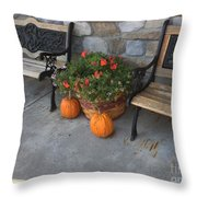 A Promise Of An Amish Harvest Throw Pillow