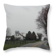 A Promise Of An Early Spring Throw Pillow