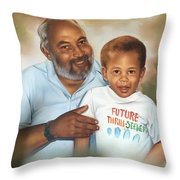 A Proud Moment Throw Pillow