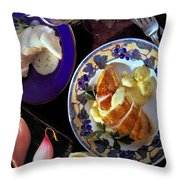 A Provence Luncheon Throw Pillow